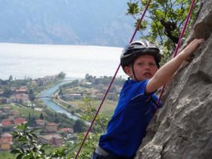 Klettern in Riva