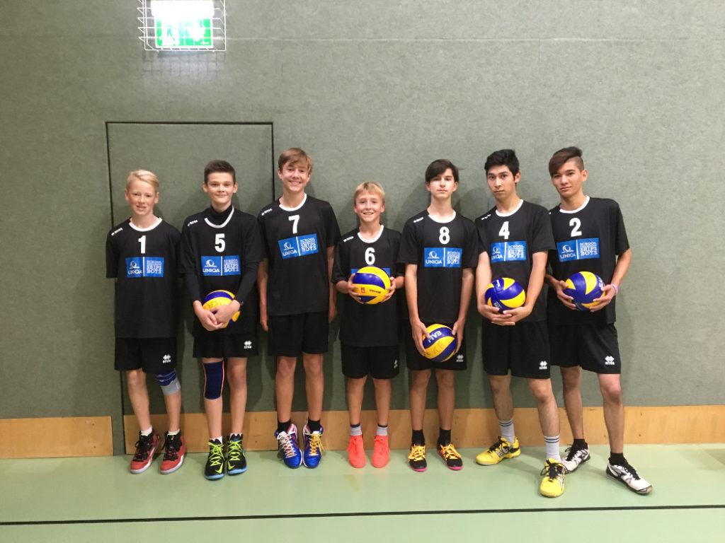 Schülerligateam Volleyball SMS Wörgl 1