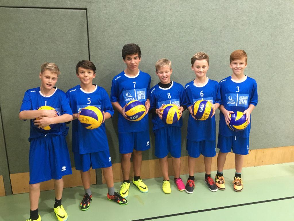 Schülerligateam Volleyball SMS Wörgl 2