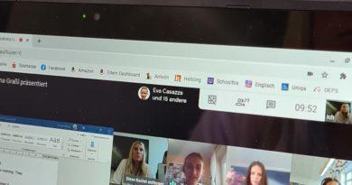 Online-Schulpraktikum für unsere Studenten
